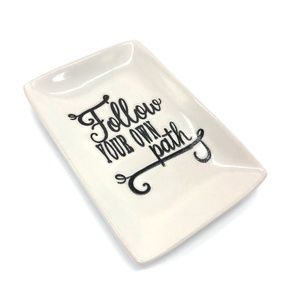 Thirty-one Follow Your Own Path Trinket Tray